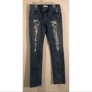 Young & Faded Skinny Jeans
